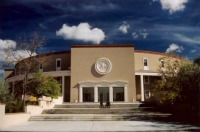 New Mexico's state capitol, the Roundhouse