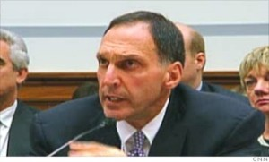 Richard Fuld, former CEO of Lehman Brothers Holdings Inc. Fuld earned about $69.5 million in 2007, the year before Lehman Brothers filed for bankruptcy in Sept. 2008. From 2000 to 2007, he was awarded about $889.5 million and cashed out about $529 million of that before the company went bankrupt. He owns homes in Greenwich, Connecticut, Jupiter Island, Florida, and a ranch in Sun Valley, Idaho. Fuld has since started a consulting firm called Matrix Advisors LLC.