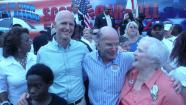 Lobbyist William Rubin with Gov. Rick Scott Photo: Tampa Bay Times