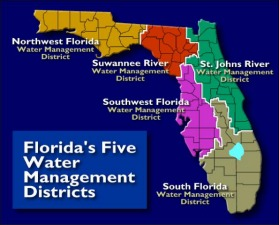 Florida's sprawling water management districts spend hundreds of millions of dollars every year, but do not require lobbyists to register. Photo: Florida Department of Environmental Protection