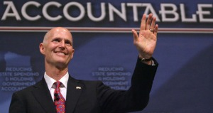 Gov. Rick Scott Photo: Joe Burbank, Orlando Sentinel
