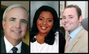 Brian Goldmeier and clients, Broward Mayor Barbara Sharief and Miami-Dade Mayor Carlos Gimenez