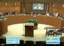 A screen shot of archived video of last week's Broward commission  meeting.