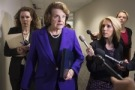 Sen. Dianne Feinstein, D- Ca., outgoing chair of the Senate Intelligence Committee