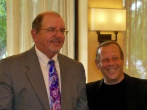 Allen Smith, left, chief investigator for the Broward Public Defender's Offfice, with Public Defender Howard Finkelstein