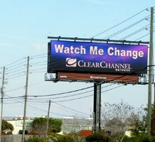 A digital billboard in Sarasota. Photo: Scenic America