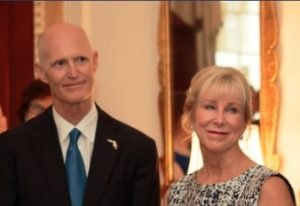 Gov. Rick Scott and First Lady Ann Scott