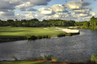 The Bear's Club golf course in Jupiter.