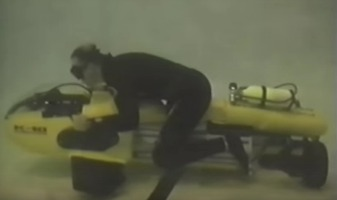 A submersible diver propulsion vehicle like those purchased by a 9/11 hijacker.