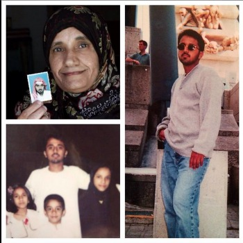 Zuhrah A. Jumah, top left, and her son Adnan El Shukrijumah, right and bottom.