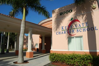Keys Gate Charter School in Homestead. Photo: Wikimedia Commons